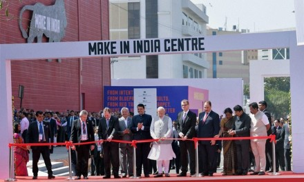 Make in India Week Images with PM Modi